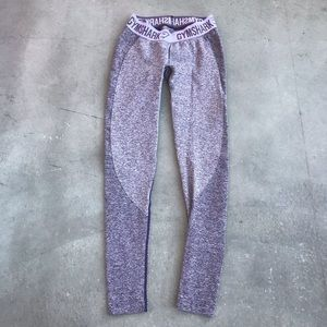 Gymshark Flex Leggings Rich Purple Soft Lilac XS